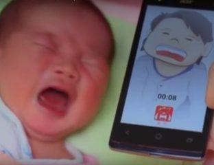 choro do bebê