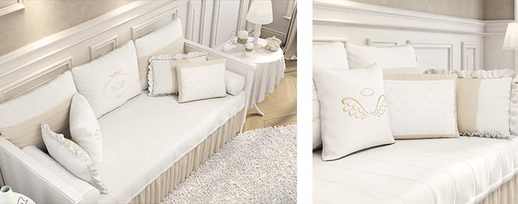 Coleção Anjo kit cama babá