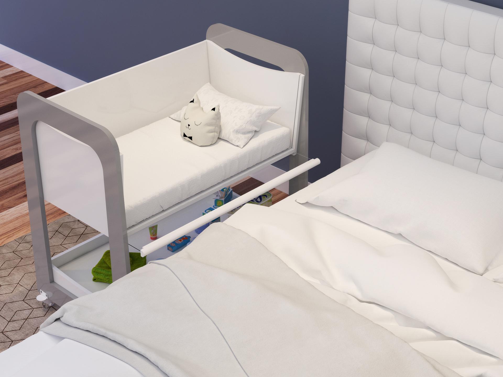 Lan amento ber o port til para dormir juntinho com o beb - Cama de coche para nino ...