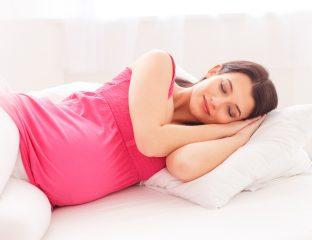 posições para dormir na gravidez