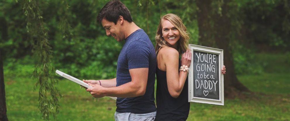 anunciar gravidez para o pai