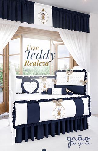 Coleção Urso Teddy Realeza
