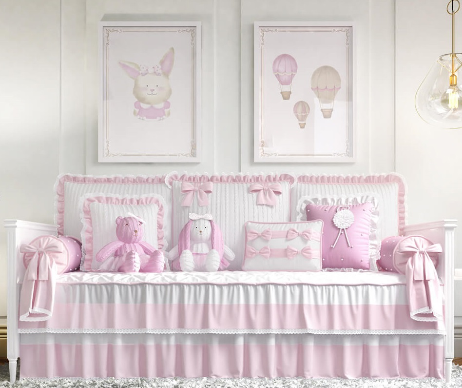 quarto de bebê tricô