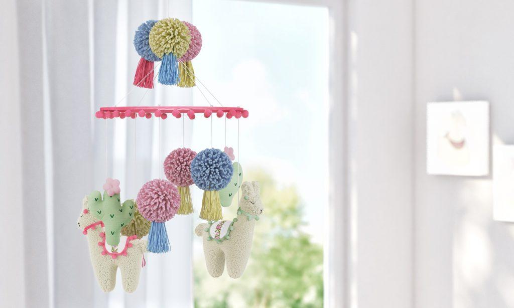 decoração com lhamas
